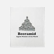 Beeramid Shirt Beeramid T-shi Throw Blanket