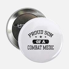 """Proud Combat Medic Son 2.25"""" Button"""
