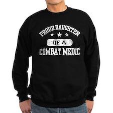 Proud Combat Medic Daughter Sweatshirt