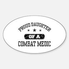Proud Combat Medic Daughter Decal