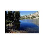 Mountain Lake Rectangle Magnet