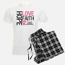 Breast Cancer Faith Pajamas