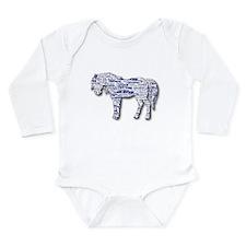 I LOVE HORSES Long Sleeve Infant Bodysuit