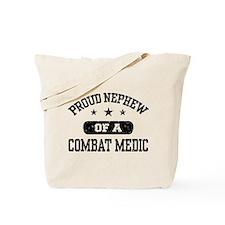 Proud Combat Medic Nephew Tote Bag