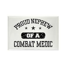 Proud Combat Medic Nephew Rectangle Magnet