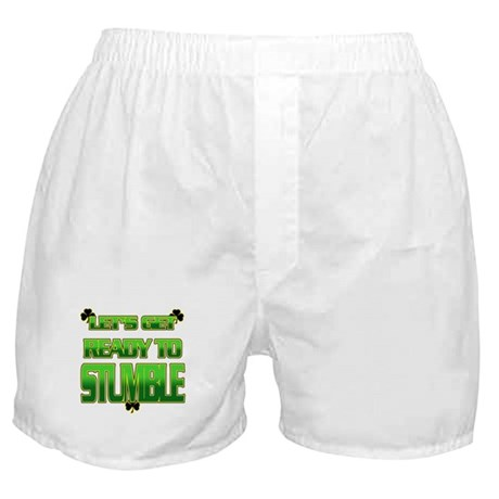 LET'S GET READY TO STUMBLE Boxer Shorts