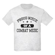 Proud Niece of a Combat Medic T-Shirt