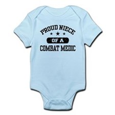 Proud Niece of a Combat Medic Infant Bodysuit