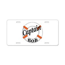 Captain Bob's Aluminum License Plate
