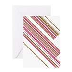 Retro Stripe Greeting Card