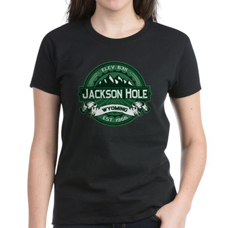 Jackson Hole Forest Women's Dark T-Shirt