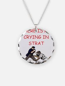 strat-o-matic baseball joke Necklace