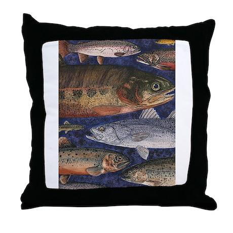 Fish throw pillow by tweakedstuff for Fish throw pillows
