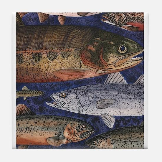 Fish! Tile Coaster