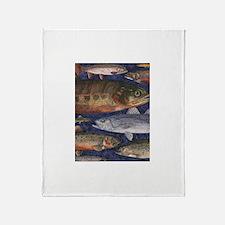 Fish! Throw Blanket