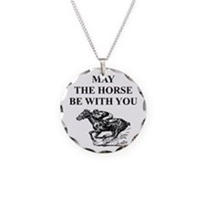 Thoroughbred Horse Racing Necklace