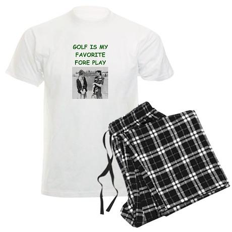 golf joke Men's Light Pajamas