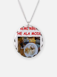 pie lover joke Necklace