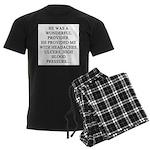 funny divorce women's joke Men's Dark Pajamas