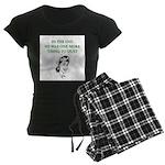 womens divorce joke Women's Dark Pajamas