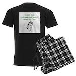 womens divorce joke Men's Dark Pajamas