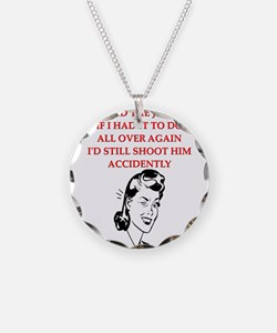 divorce gifts t-shirts Necklace
