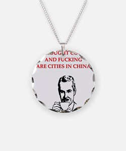 divorce joke for men Necklace