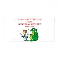 dragon joke Aluminum License Plate