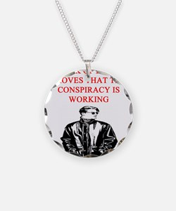 conspiracy theory Necklace