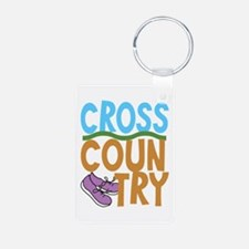 Cross Country Runners Keychains