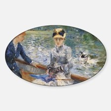 Renoir Fine Art Sticker (Oval)