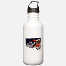 Indy Cars Water Bottle