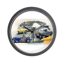 Drag Race Stuff Wall Clock