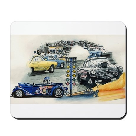 Drag Race Stuff Mousepad