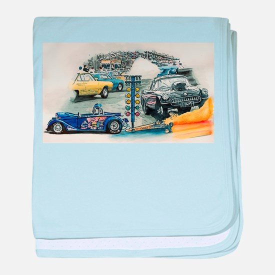 Drag Race Stuff baby blanket