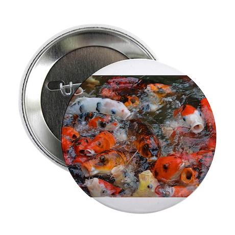"""2.25"""" Koi Kiss Button (10 pack)"""