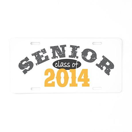 Senior Class of 2014 Aluminum License Plate