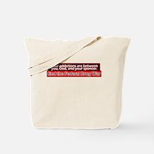 End the Drug War Tote Bag
