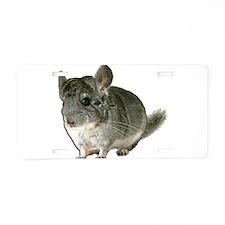 Chinchilla Photo Aluminum License Plate