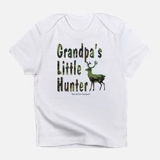 Grandpa's Little Hunter Infant T-Shirt