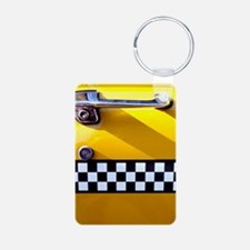 Checker Cab No. 8 Keychains