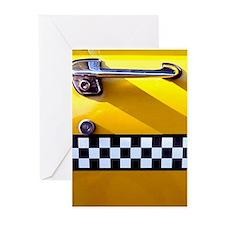 Checker Cab No. 8 Greeting Cards (Pk of 20)