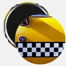 Checker Cab No. 8 Magnet