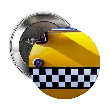 "Checker Cab No. 8 2.25"" Button"