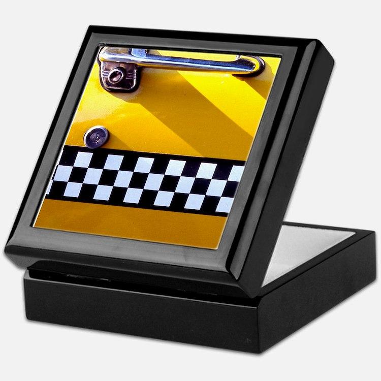 Checker Cab No. 8 Keepsake Box