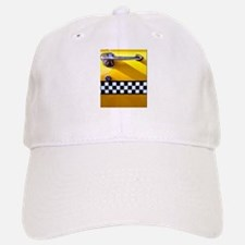 Checker Cab No. 8 Baseball Baseball Cap