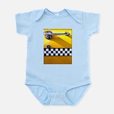 Checker Cab No. 8 Infant Bodysuit