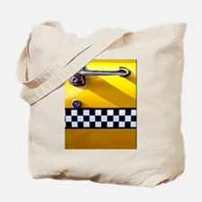Checker Cab No. 8 Tote Bag