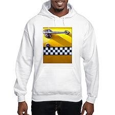 Checker Cab No. 8 Hoodie
