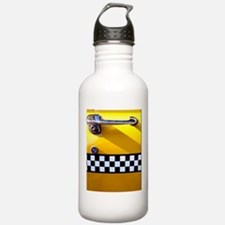 Checker Cab No. 8 Water Bottle